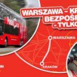 Warszawa – Kraków bezpośrednio z PolskiBus.com! Szybciej, z poczęstunkiem i już