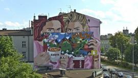 Smok w sercu Krakowa na urodziny COSTA COFFEE