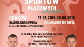 Międzynarodowy Festiwal Sportów Plażowych w Galerii Krakowskiej